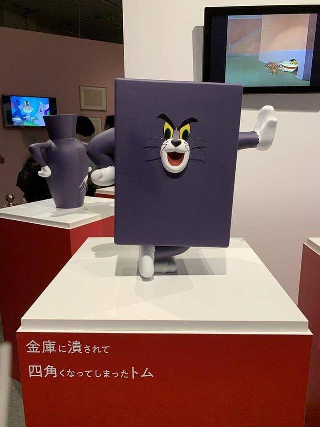 Năm con chuột, cùng ngắm triển lãm độc đáo về Tom và Jerry đầu tiên trên thế giới - Ảnh 4.
