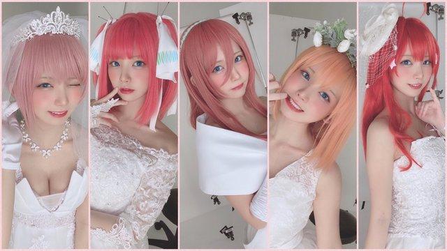 Xem loạt ảnh cosplay 5 chị em đẹp quen sầu của nữ cosplayer số 1 Nhật Bản Enako - Ảnh 2.