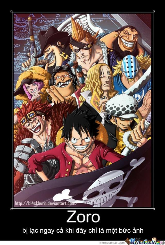 One Piece: Mai đã phải đi làm rồi, giải trí với loạt meme cực hài về Thánh lạc Zoro cho tinh thần lên cao nào - Ảnh 2.