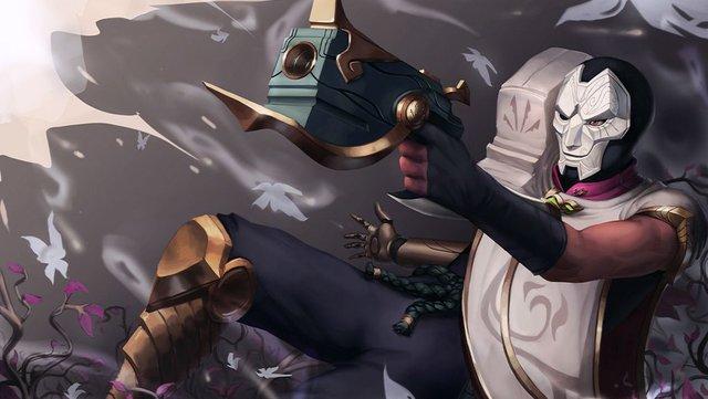 Bó tay với lỗi siêu dị của Jhin - Súng không bắn ra đạn mà lại quăng ra bẫy - Ảnh 3.