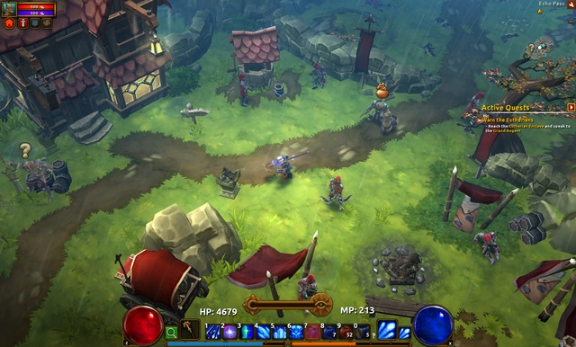 Lại xuất hiện thêm đối thủ mới của Diablo IV, chất lượng đỉnh cao miễn chê - Ảnh 1.