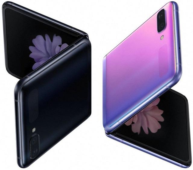 Smartphone màn hình gập vỏ sò Galaxy Z Flip lộ ảnh render chính thức, giá 38 triệu đồng - Ảnh 2.