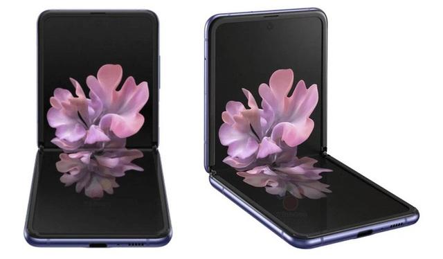 Smartphone màn hình gập vỏ sò Galaxy Z Flip lộ ảnh render chính thức, giá 38 triệu đồng - Ảnh 5.