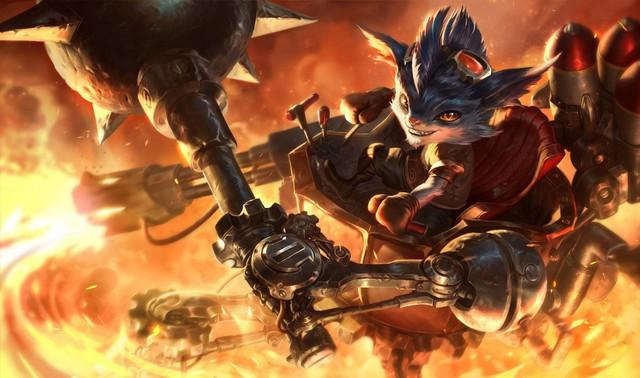 Game thủ tìm ra mẹo mới giúp Rumble tung Súng Phun Lửa và Khiên Phế Liệu kể cả lúc bị quá tải - Ảnh 2.