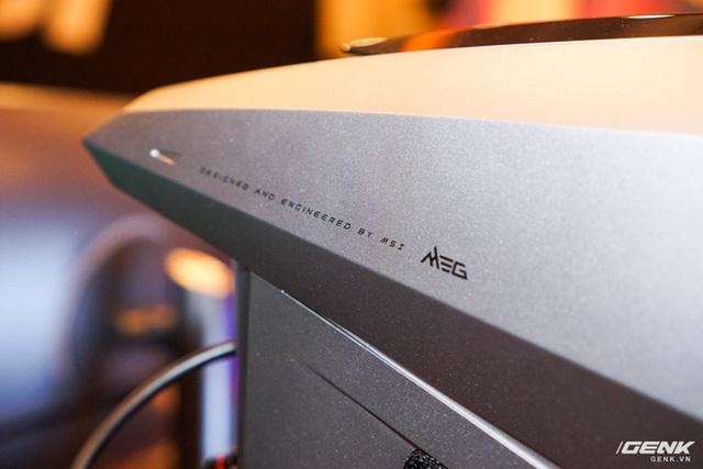 [CES 2020] MSI trình làng chiếc PC chơi game cực khủng MEG Aegis Ti5 tại CES, nhìn chẳng khác gì cái đầu Robot - Ảnh 7.