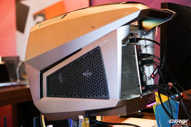 [CES 2020] MSI trình làng chiếc PC chơi game cực khủng MEG Aegis Ti5 tại CES, nhìn chẳng khác gì cái đầu Robot - Ảnh 10.