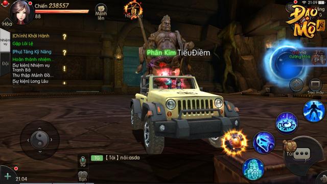 Hoang mang cực độ khi chơi Đạo Mộ Ký Mobile: Ngoài đường thì xe lượn như GTA, đánh quái thì như Diablo 3 - Ảnh 2.