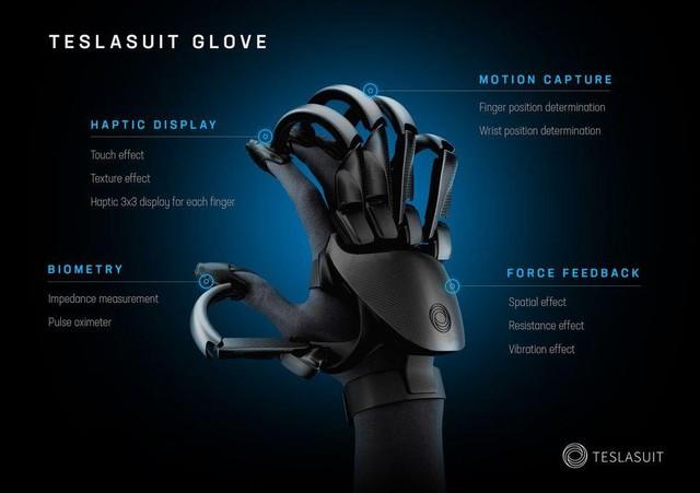 Teslasuit - Găng tay thực tế ảo siêu đỉnh cho game thế hệ mới - Ảnh 2.