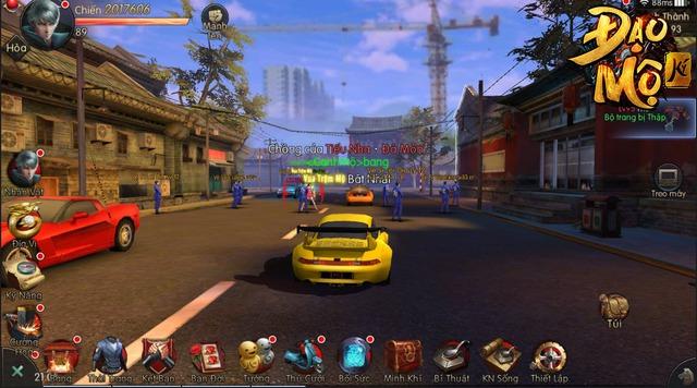 Hoang mang cực độ khi chơi Đạo Mộ Ký Mobile: Ngoài đường thì xe lượn như GTA, đánh quái thì như Diablo 3 - Ảnh 6.