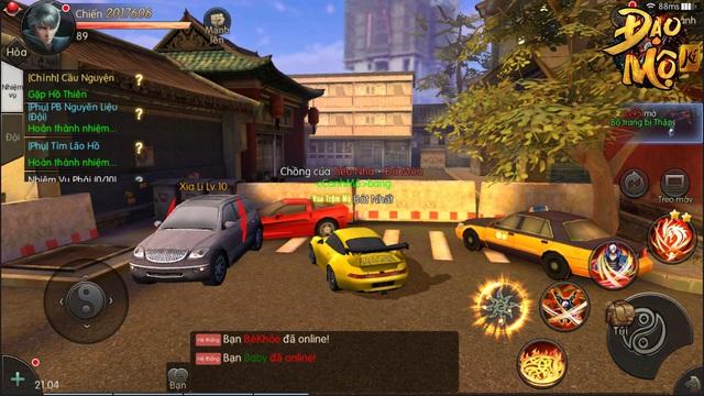 Hoang mang cực độ khi chơi Đạo Mộ Ký Mobile: Ngoài đường thì xe lượn như GTA, đánh quái thì như Diablo 3 - Ảnh 7.