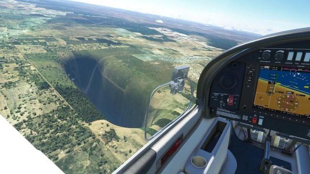 Game thủ bất ngờ phát hiện ra hố đen vô tận trong Microsoft Flight Simulator 2020 - Ảnh 3.