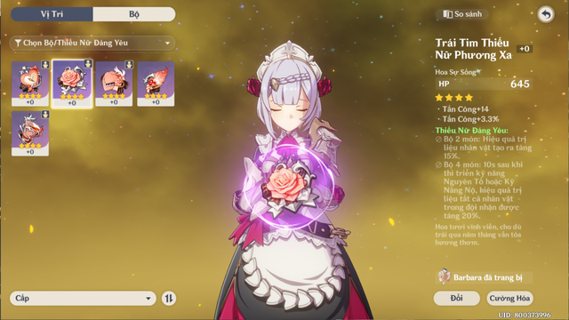 Hướng dẫn build Noelle - Cô nàng hầu gái Tanker xinh và gợi cảm nhất Genshin Impact - Ảnh 4.
