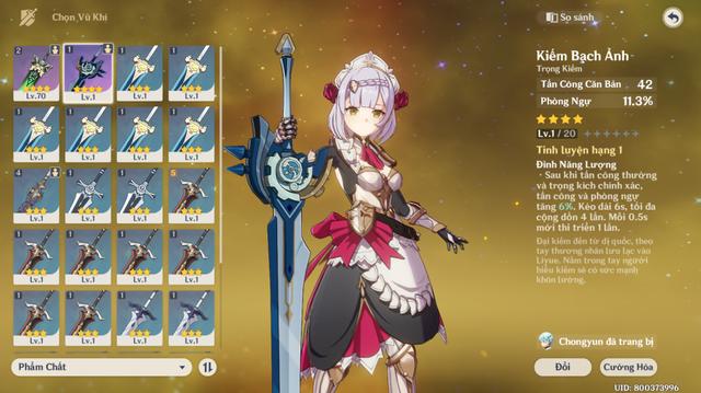 Hướng dẫn build Noelle - Cô nàng hầu gái Tanker xinh và gợi cảm nhất Genshin Impact - Ảnh 5.