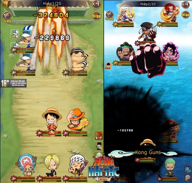 Game One Piece siêu nóng sắp ra mắt - Mộng Hải Tặc Mobile và 5 lý do nhất định các fan cuồng phải thử! - Ảnh 2.