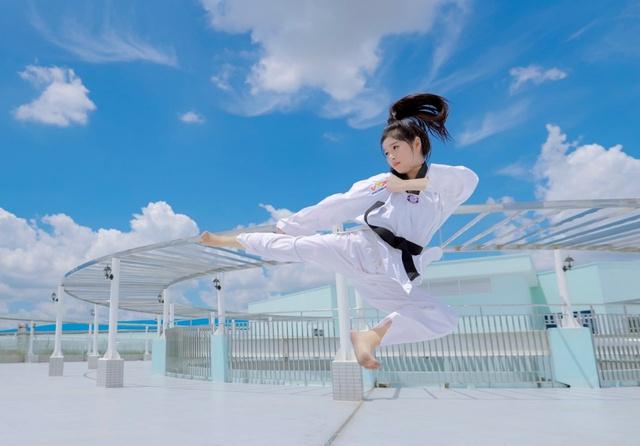 Người đẹp VLTK Công Thành Chiến: Hành trình từ tuyển thủ võ thuật đến đấu trường nhan sắc - Ảnh 2.