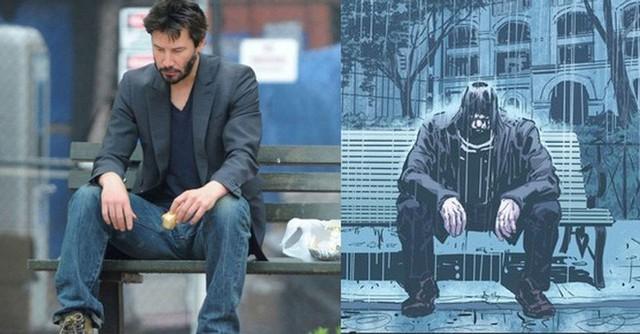 Keanu Reeves đưa bức ảnh meme huyền thoại của chính mình vào trong bộ truyện tranh đầu tiên do anh sáng tác - Ảnh 1.