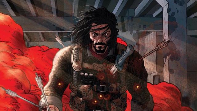 Keanu Reeves đưa bức ảnh meme huyền thoại của chính mình vào trong bộ truyện tranh đầu tiên do anh sáng tác - Ảnh 2.