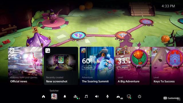 Những hình ảnh đầu tiên về giao diện PS5: Đẹp mê hồn - Ảnh 4.