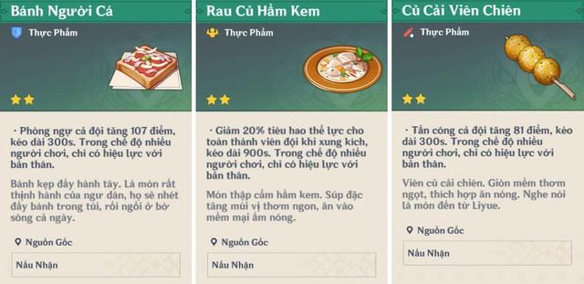 Mọi thứ bạn cần biết về nấu ăn và thực phẩm trong Genshin Impact - Ảnh 5.