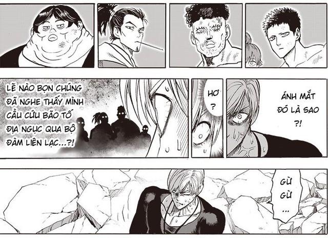 Mặt Nạ Mật muốn giết các anh hùng, Blast lộ mặt trong chương mới nhất của One Punch Man - Ảnh 2.
