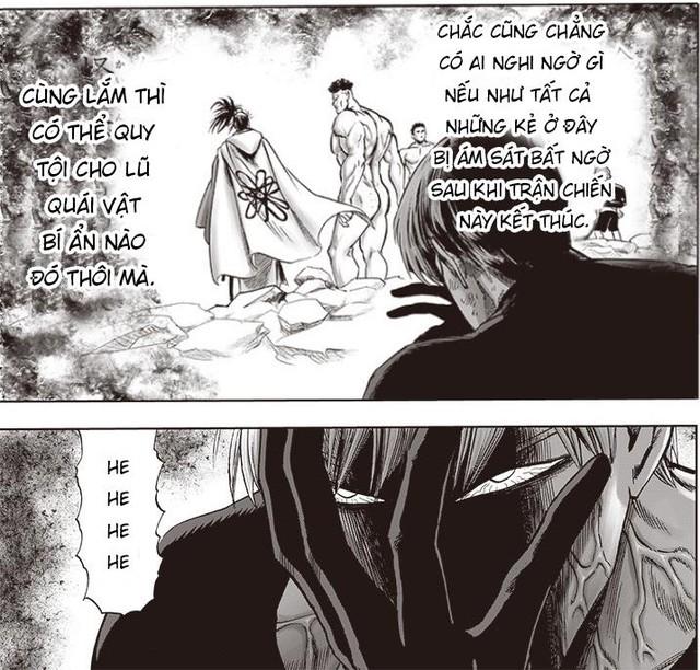 Mặt Nạ Mật muốn giết các anh hùng, Blast lộ mặt trong chương mới nhất của One Punch Man - Ảnh 4.