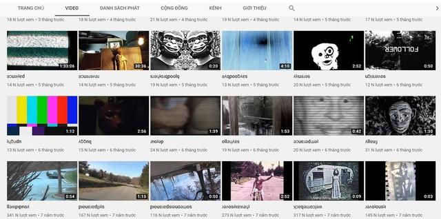 5 kênh YouTube kỳ quặc, gây ám ảnh cực mạnh không dành cho người yếu tim - Ảnh 4.