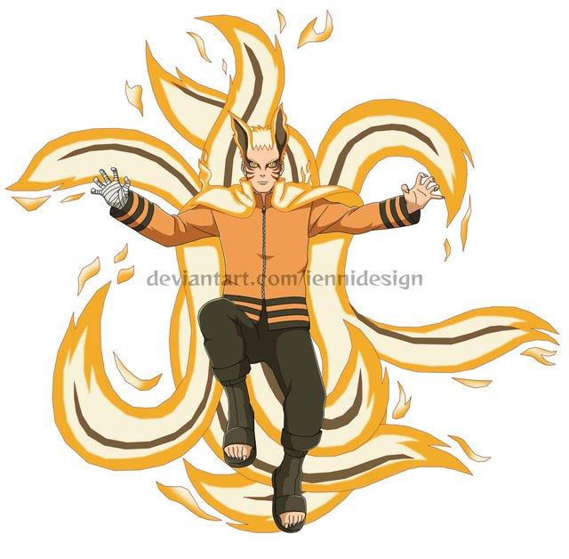 Boruto: Loạt tranh siêu đỉnh về hình thức Thần Cáo của Naruto - trạng thái tối thượng có thể khiến ngài Hokage phải chết - Ảnh 8.