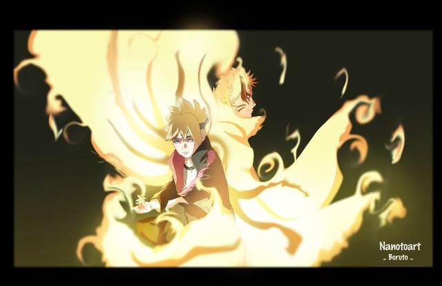 Boruto: Loạt tranh siêu đỉnh về hình thức Thần Cáo của Naruto - trạng thái tối thượng có thể khiến ngài Hokage phải chết - Ảnh 10.