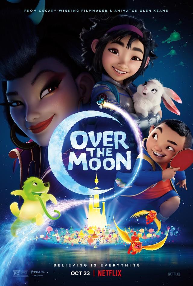 """Netflix khởi chiếu bộ phim """"Vươn tới cung trăng"""" dựa trên truyền thuyết của Á Đông về Nữ thần mặt trăng - Ảnh 2."""