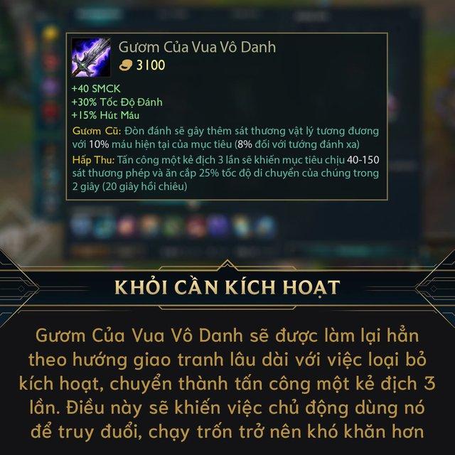Game thủ Việt vui sướng vì update Gươm Vô Danh tại Tiền Mùa Giải 2021 - Thời của Master Yi tới rồi - Ảnh 1.