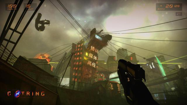 Đây là khi tựa game bắn súng huyền thoại Half-Life 2 kết hợp với bom tấn Cyberpunk 2077 - Ảnh 3.