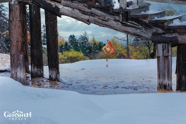 Xuất hiện địa điểm có thật ở ngoài đời, đẹp lung linh giống hệt Genshin Impact - Ảnh 8.