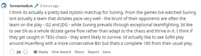 Cộng đồng phân tích sức mạnh của Top Esports và chỉ ra cơ hội để Suning thắng trận Bán Kết sắp tới - Ảnh 10.