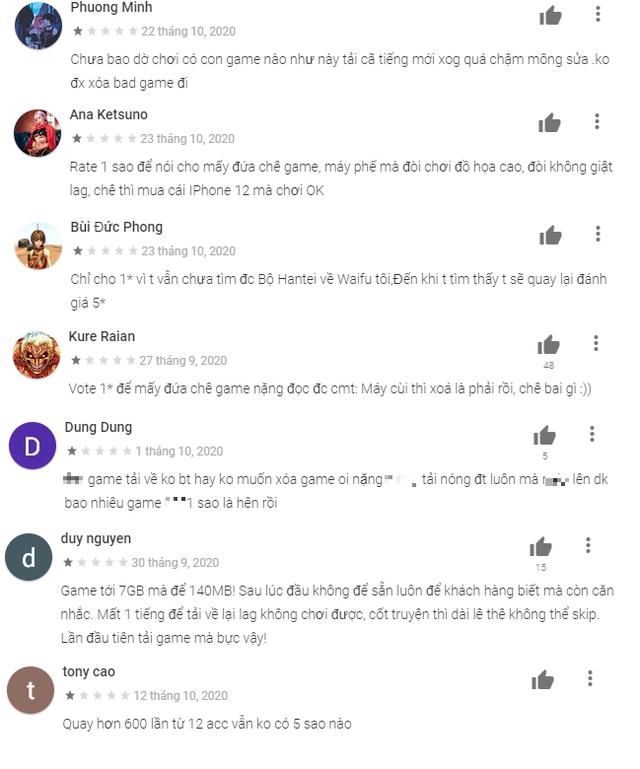 Genshin Impact ăn bão 1 sao của game thủ Việt, đọc bình luận mà hết hồn và thấy thương nhà phát triển - Ảnh 3.
