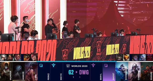 Những lý do khiến G2 Esports thất thủ trước DAMWON Gaming và bị loại khỏi CKTG 2020 - Ảnh 1.