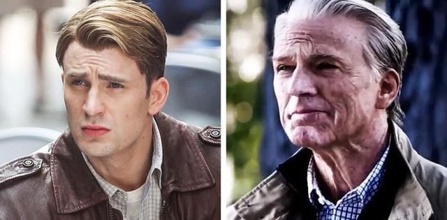 7 lần biến hình đáng kinh ngạc của dàn sao Marvel, sốc nhất là Thor và Captain America - Ảnh 1.