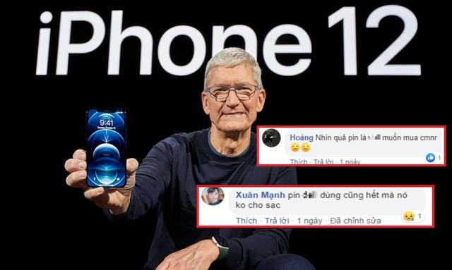 """Đây là dung lượng pin của iPhone 12, người dùng bức xúc """"pin không dùng cũng hết mà còn chả cho sạc"""" - Ảnh 4."""