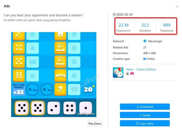 Thông tin chi tiết về SocialPeta - giải pháp sáng tạo cho truyền thông và quảng cáo game mobile toàn cầu 2020 - Ảnh 2.