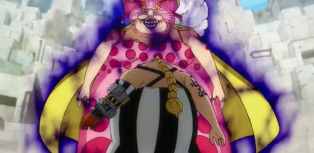 Review One Piece tập 947: Big Mom uy hiếp Queen, Luffy đục nước béo cò muốn quậy nát Udon - Ảnh 2.