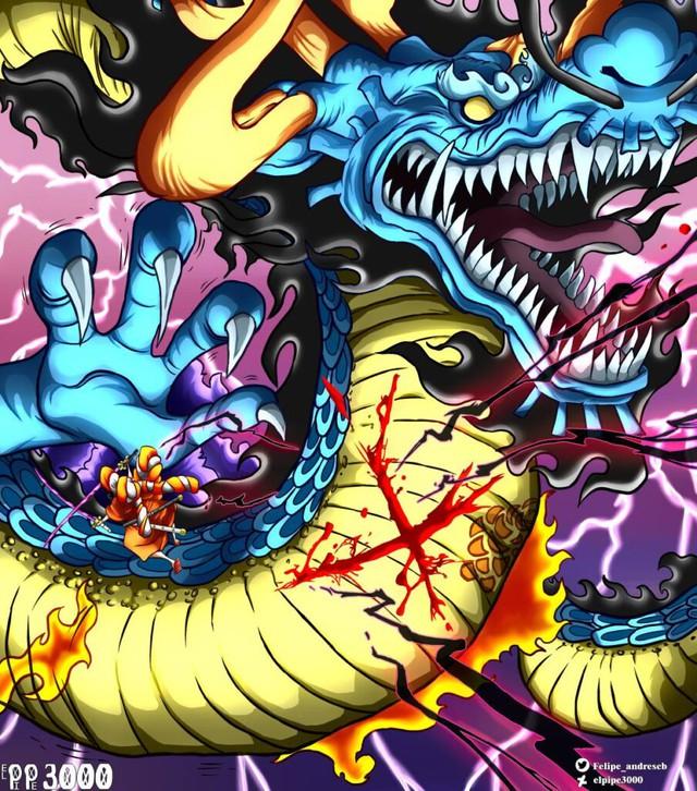 One Piece chap 993: Bí ẩn cho sự bất khả chiến bại của Kaido đã dần dần được hé lộ - Ảnh 3.