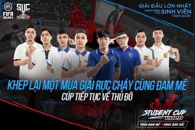 Đại Học Xây Dựng Hà Nội vô địch: Khép lại mùa giải khởi động năm học mới FIFA Online 4 Student Cup 2020 - Ảnh 1.
