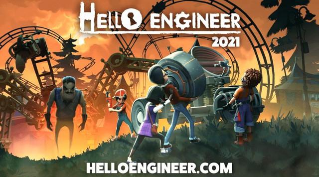 Tựa game kinh dị trêu chọc hàng xóm bất ngờ ra mắt phần game mới - Hello Engineer - Ảnh 1.
