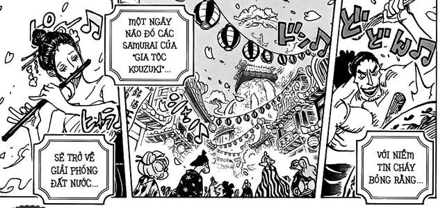 Đây là những chi tiết không soi khó thấy trong One Piece chap 993, đọc xong mới thấy Oda quá thâm (P1) - Ảnh 2.