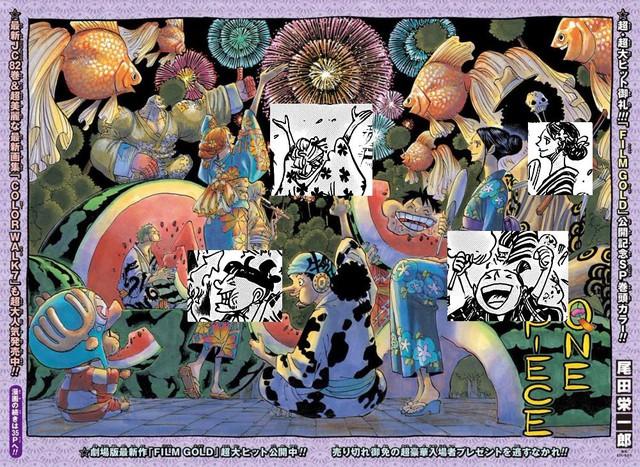 Đây là những chi tiết không soi khó thấy trong One Piece chap 993, đọc xong mới thấy Oda quá thâm (P1) - Ảnh 3.