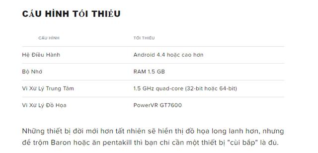Chính thức! Danh sách smartphone có thể chơi LMHT: Tốc Chiến, bất ngờ là máy từ 2013 cũng chơi được - Ảnh 3.