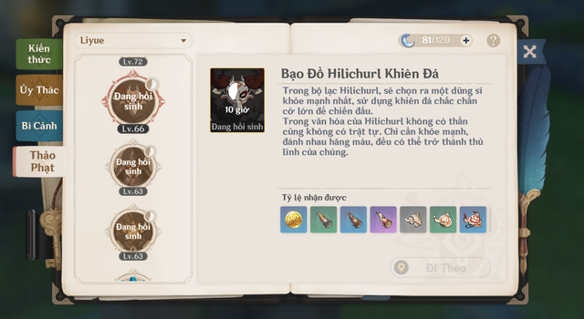 """Thảo phạt các boss nhỏ ở cả hai bản đồ là một cách """"giết thời gian"""" có thưởng trong Genshin Impact"""