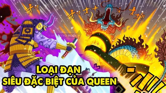 One Piece: Món vũ khí đáng sợ khiến X Drake cũng phải xanh mặt của Queen đã được kích hoạt - Ảnh 2.