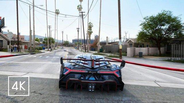 Chẳng cần phải phí thời gian đợi GTA 6, khi GTA 5 trông siêu thực với bản mod Ray Tracing này - Ảnh 3.