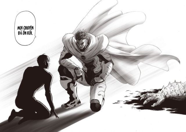 One Punch Man: Anh hùng mạnh nhất lộ diện, hóa ra Blast cũng từng cứu Mặt Nạ Mật - Ảnh 1.