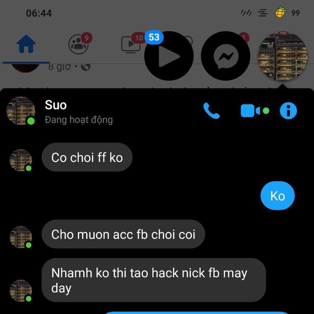 """Bị game thủ nhí """"FF"""" tên Yasuo dọa hack Facebook, chàng trai mách luôn mẹ của hacker và cái kết không ngậm được mồm - Ảnh 3."""
